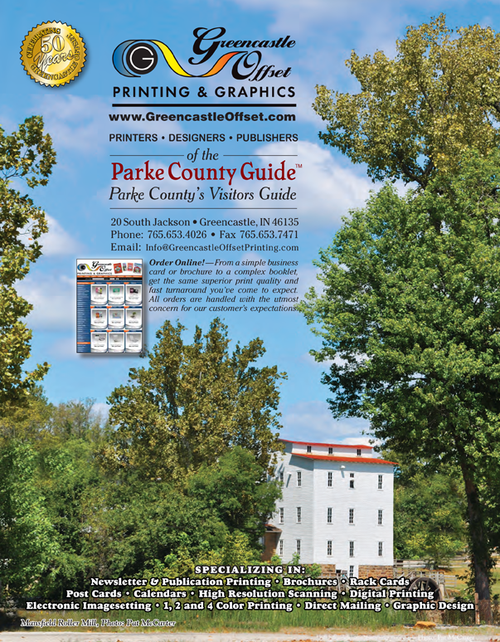 Greencastle Offset Printing & Graphics — Publishers of the Parke County Guide