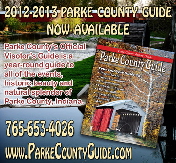 2012-2013 Parke County Guide™ Magazine — Instant PDF Download!