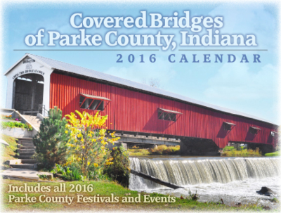 2016 Covered Bridges of Parke County Calendar