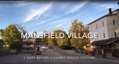 MANSFIELD VILLAGE • OCT 14 ~ OCT 23 • 2016 Parke County Covered Bridge Festival
