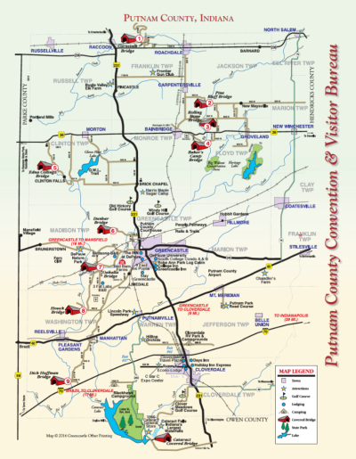 MAP — Discover Putnam County Magazine