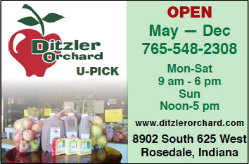 Ditzler Orchard — Advertisement