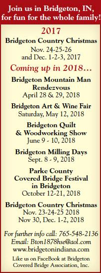 Bridgeton Indiana — Advertisement
