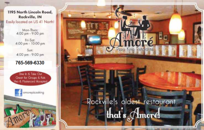 Amoré Pizza King Ristorante — Advertisement