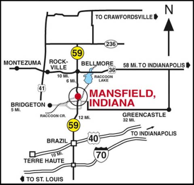 Mansfield Indiana [MAP]