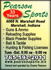 Pearson Sports — Advertisement