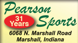 Pearson Sports in Marshall Indiana