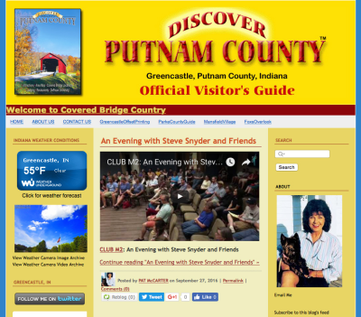 Visit the DiscoverPutnamCounty.com Website