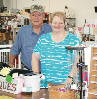 Jill and Bill Dixon - Timeless 'n Classic Antique Mall