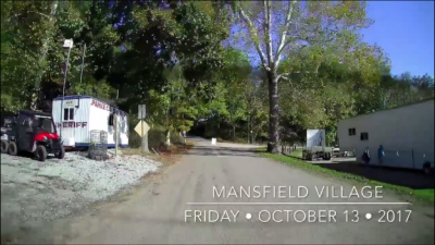 Video Walkthrough of Mansfield, Indiana on Opening Day of the 2017 Parke County Covered Bridge Festival
