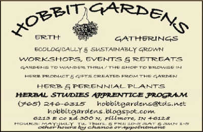 Hobbit Gardens Erth Gatherings Center — Advertisement