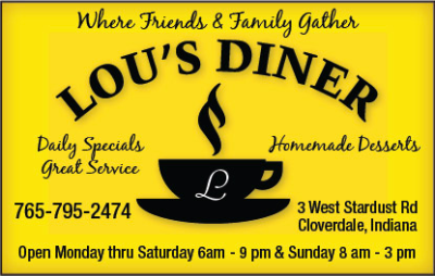 Lou's Diner — Advertisement