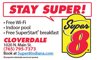 Super 8 Hotel — Advertisement