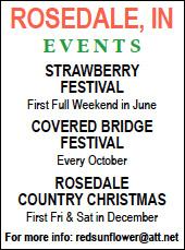 Rosedale Strawberry Festival — Advertisement
