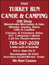 Turkey Run Canoe & Camping — Advertisement