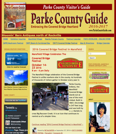 Visit the ParkeCountyGuide.com Website