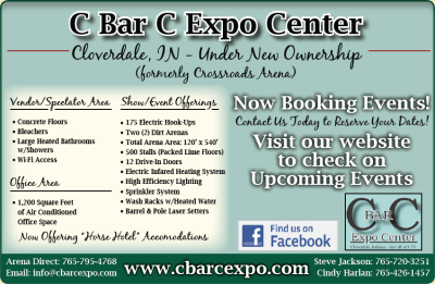 C Bar C Expo Center — Advertisement