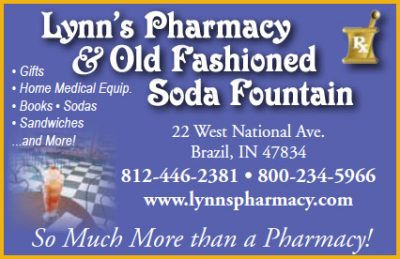 Lynn's Pharmacy & Old Fashioned Soda Parlor — Advertisement