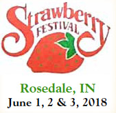 Rosedale Strawberry Festival — June 1-3