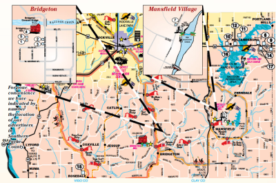 Welcome to Southern Parke County — MAP