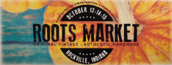 Roots Market at Covered Bridge Festival