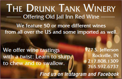 The Drunk Tank Winery — Advertisement