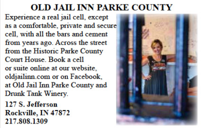 Old Jail Inn Parke County — Advertisement