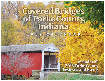 click here parke countys covered bridges 2018 calendar