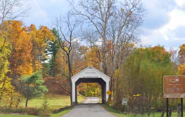 Covered Bridge Festival At Montezuma