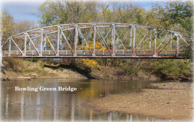 Bowling Green Bridge — Explore Clay County Indiana