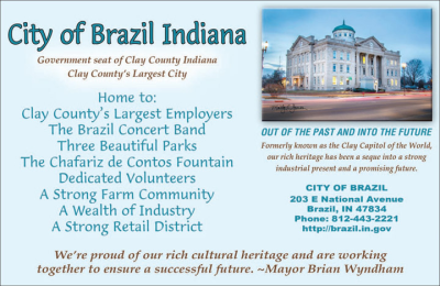 Advertisement: City of Brazil Indiana