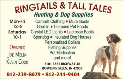 Advertisement: Ringtails And Tall Tales