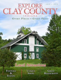 Explore Clay County Indiana - Great Places - Great Faces.