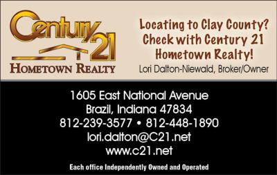 Advertisement:  Century 21 Hometown Realty