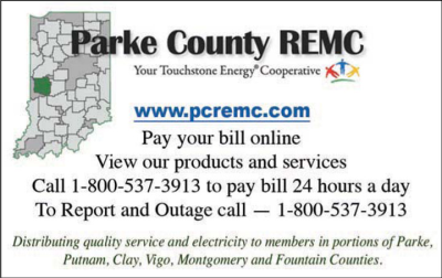 Advertisement: Parke County REMC