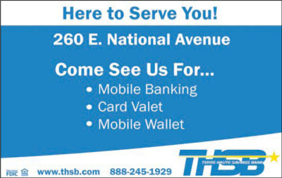 Advertisement: Terre Haute Savings Bank