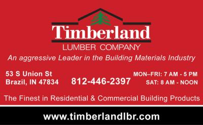 Advertisement: Timberland Lumber Company