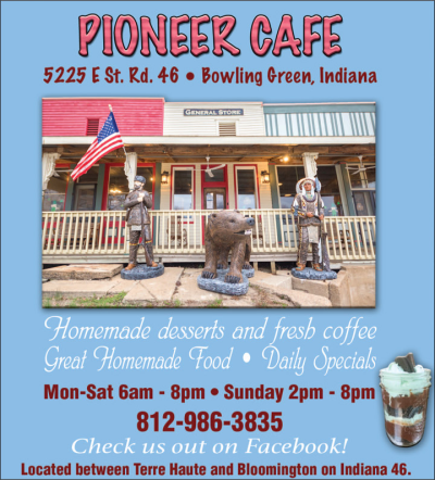 Advertisement: Pioneer Cafe