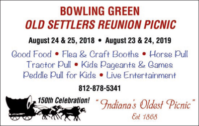 Advertisement: Old Settlers Reunion Picnic