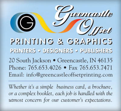 Advertisement: Greencastle Offset Printing & Graphics