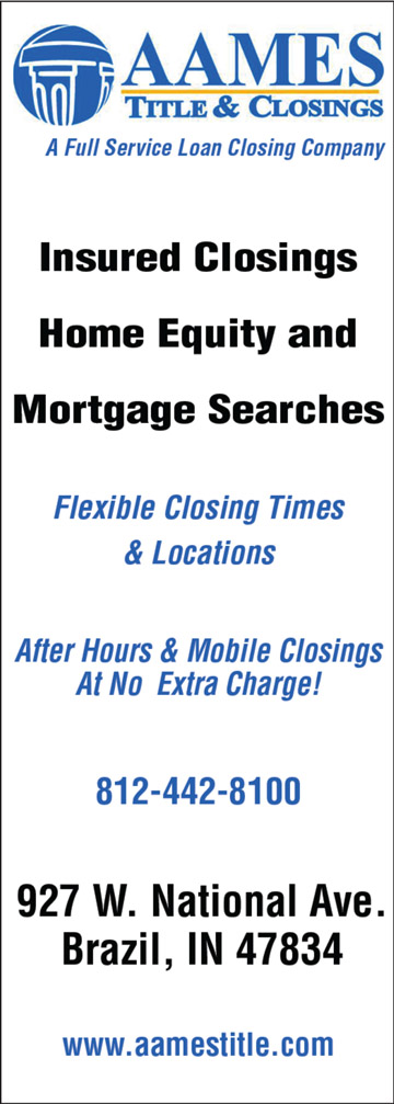 Advertisement: Aames Title & Closings