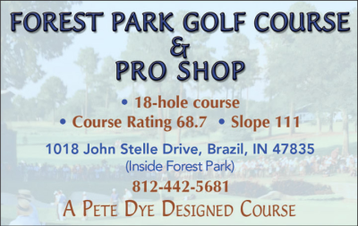 Advertisement: Forest Park Golf Course & Pro Shop
