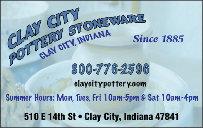 Advertisement: Clay City Pottery