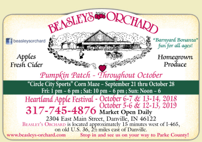 AD: Beasley's Orchard