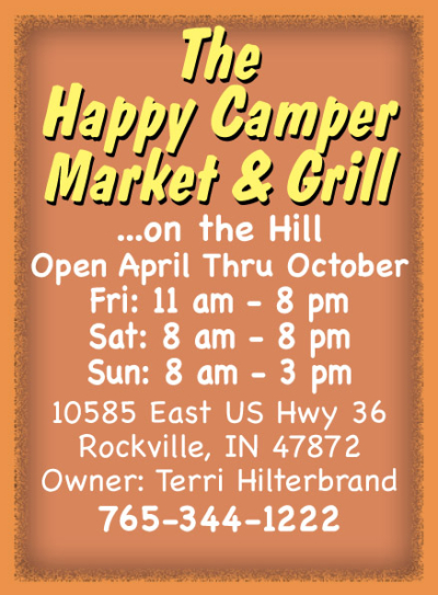 AD: The Happy Camper Market & Grill