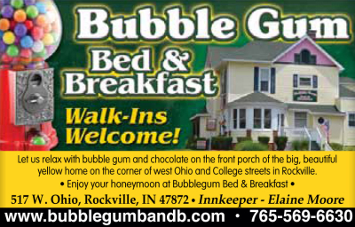 AD: Bubble Gum Bed & Breakfast