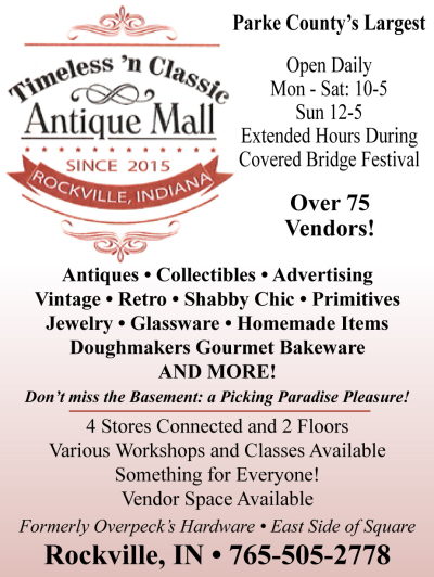 AD: Timeless 'n Classic Antique Mall