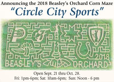 AD: Beasley's Orchard Corn Maze