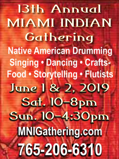 AD: 13th Annual Miami Indian Gathering