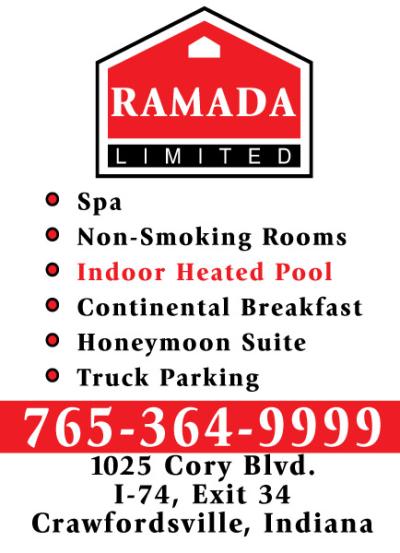 AD: Ramada Limited Crawfordsville